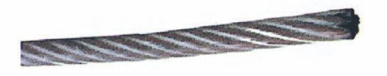 Câble gainé plastique
