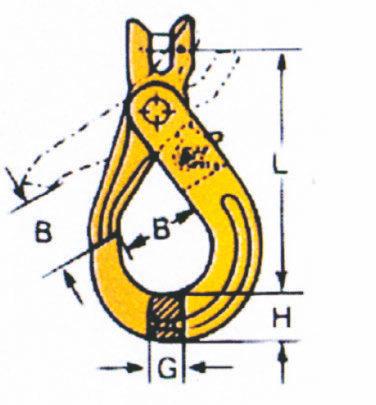 Crochet de sécurité à chape