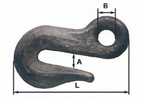 Crochets de chaîne à section losange