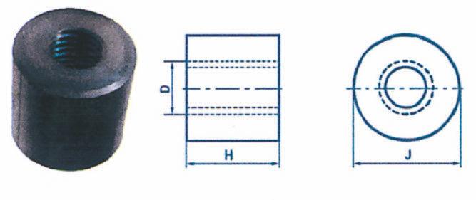 Écrous cylindriques ISO
