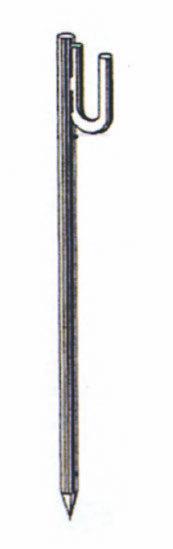 Piquets de chantier appointés porte-lanterne