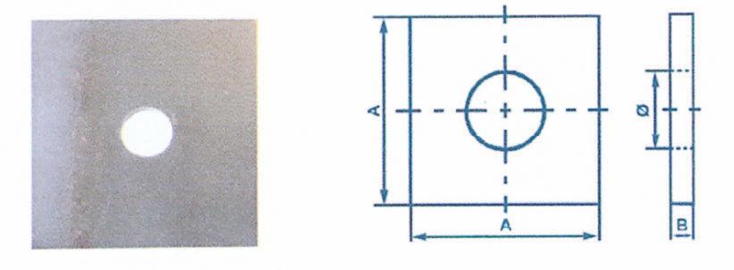 Plaques carrées