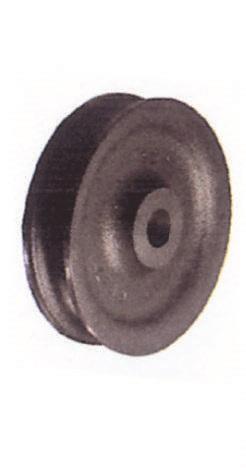 Réas en fonte pour cordage (gorge large)