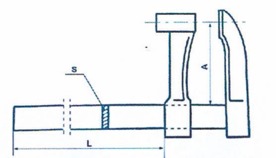 Serre-joints avec serrage par pompe